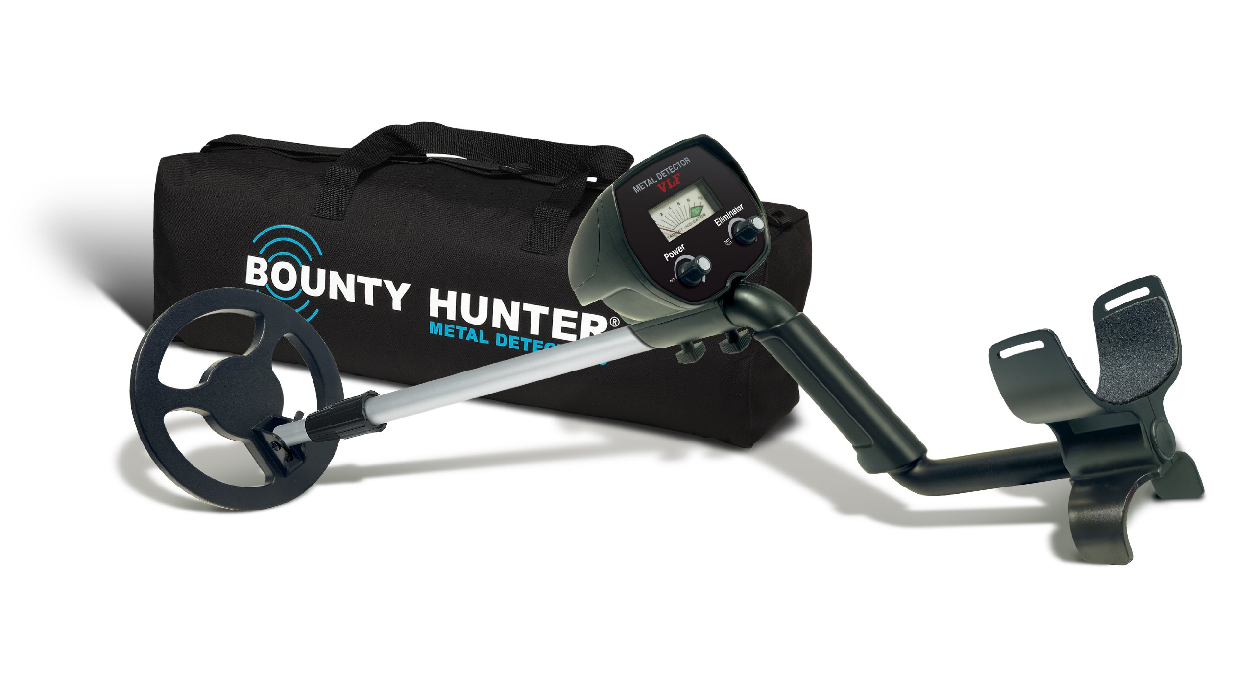 The Metal Detector VLF with Free Carry Bag