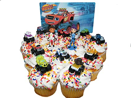 Amazon.com: PARK AVE Blaze and the Monster Machines Birthday Deluxe ...