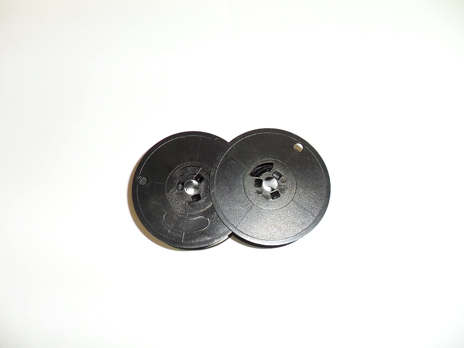 """""""Pakage of Two"""" Underwood 18, 21, 250, 319 and Others Typewriter Ribbon, Black, Twin Spool"""