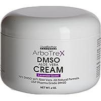 DMSO Cream With Aloe Vera - Lavender Scented, Made With 99.9% Pure Pharmaceutical grade DMSO - 70% DMSO/30% Aloe Vera…