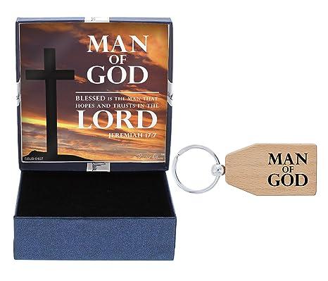 Amazon.com: ThisWear - Llavero de madera para padre, regalo ...
