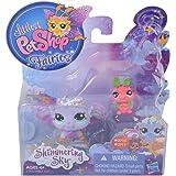 Littlest Pet Shop Fairies, Shimmering Sky, Morning Haze Fairy #2710, Luna Moth #2711