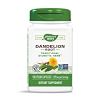 Nature's Way Dandelion Root, 1,575 mg per serving, Non-GMO, Gluten Free, Vegetarian...