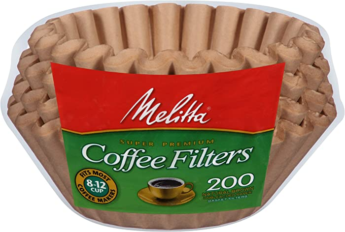 The Best Melitta Natural Brown Coffee Filters 200Ct