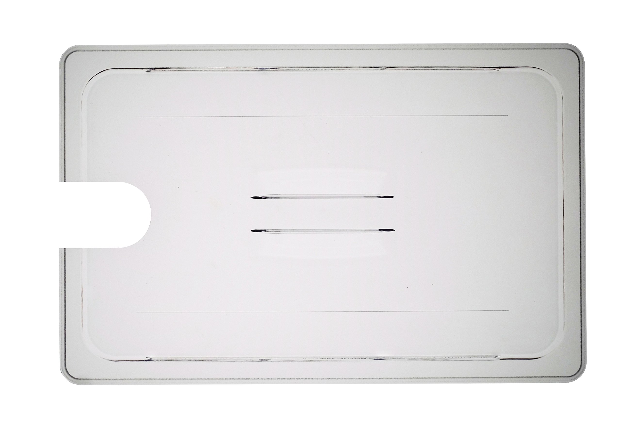 LIPAVI C15L-AN Lid for LIPAVI C15 Sous Vide Container, with precision cut-out for the ANOVA NANO immersion circulator