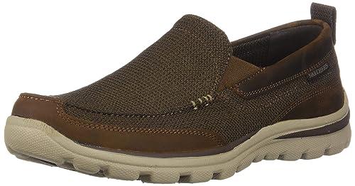 SKECHERS Superior Milford Herren Sneaker braun Kaufen bei