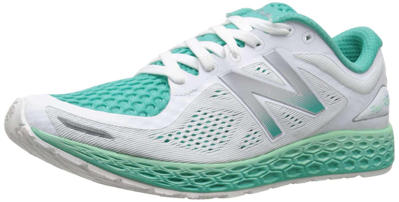 New Balance Women's B(M) ZanteV2 Breathe Running Shoe B0164194HI 9.5 B(M) Women's US|White/Sea Foam ff1061