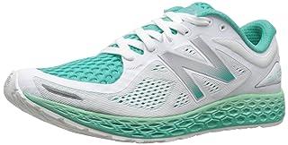 New Balance Women's WZANTV2 Running Shoe, White/Sea Foam, 10 B US