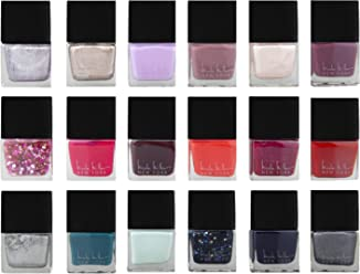Nicole Miller Nailed It Nail Polish Set, Nail Lacquer DIY Home and Gift Kit for