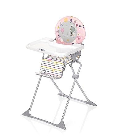 Haute Bébé Chaise pliante voyage extra Junior Brevi rose qSzjLMpVGU