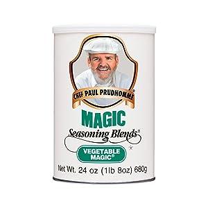 Chef Paul Vegetable Magic Seasoning, 24 ounces