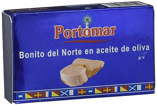 Bonito del Norte en aceite de oliva-Portomar-Pack 8 x 111gr ...