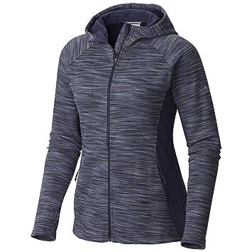 Columbia de la mujer fibra Got It con capucha chaqueta de forro polar (Plus Size), mujer, Nocturnal: Amazon.es: Deportes y aire libre