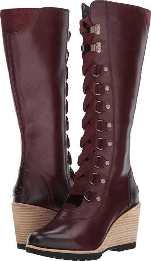 cd912c01e10 SOREL Women s After Hours Tall Wedge Boots  Amazon.ca  Shoes   Handbags