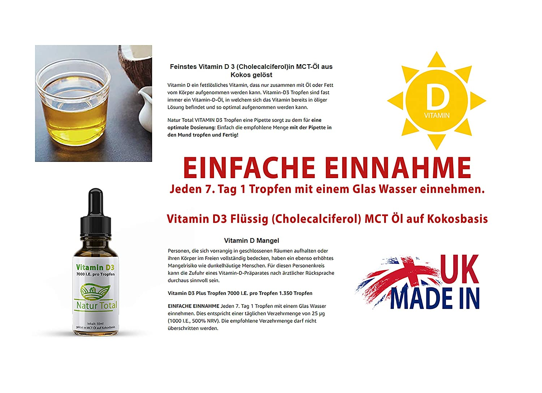 Vitamin D3 Plus Tropfen 7000 Ie Pro Tropfen 1350 Tropfen Vitamin