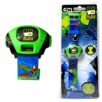 Ben10 Reloj con proyector, Reloj para niños, Reloj de Pulsera ...