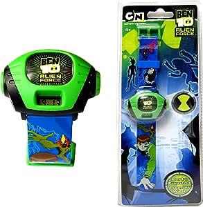 Amazon.com: Ben10 Reloj con proyector, reloj para niños ...