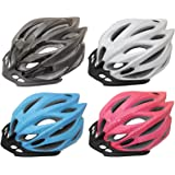 PedalPro Mens/Ladies Adult Bike Helmet - Available in 4 Colours