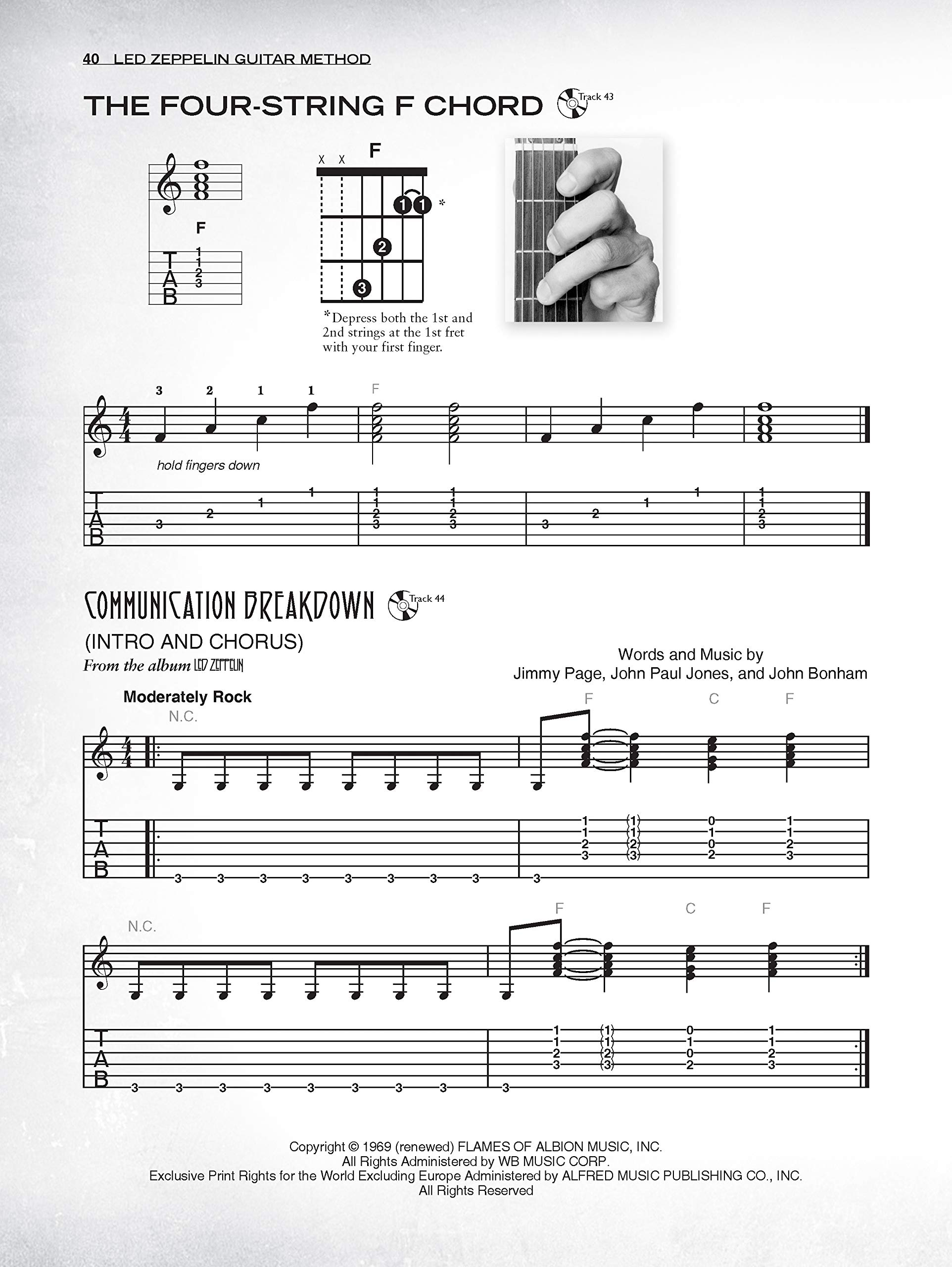 Led Zeppelin Guitar Method: Immerse Yourself in the Music and ...