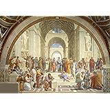 Raphael: The School of Athens. Fine Art Print/Poster. Size A3 (42cm x 29.7cm)