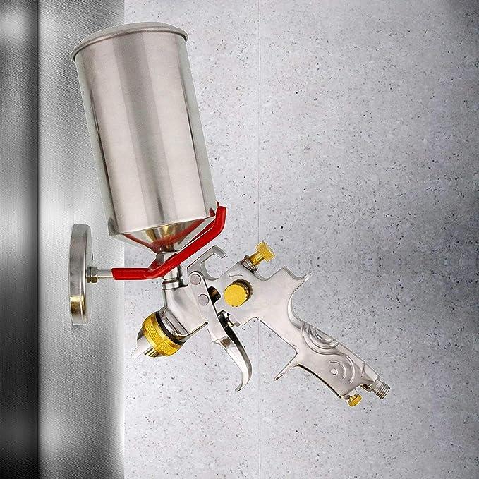 Spurtar Magnetischer Spritzpistolenhalter Lackierpistolen Magnetischem Halter Universelle Halterung An Regalen Und Anderen Magnetischen Oberflächen 4 5kgs Rot Auto