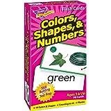 トレンド 英単語 フラッシュカード 色と形と数 Trend Flash Cards Colors, Shapes, & Numbers T-53011
