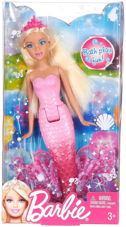 Uncategorized Barbie Mermaid Pictures amazon com barbie blonde mermaid doll toys games