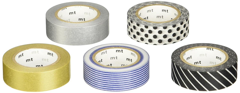 TapeFactory discretos - Cinta adhesiva decorativa (en caja regalo), tonos discretos TapeFactory 33f1ed