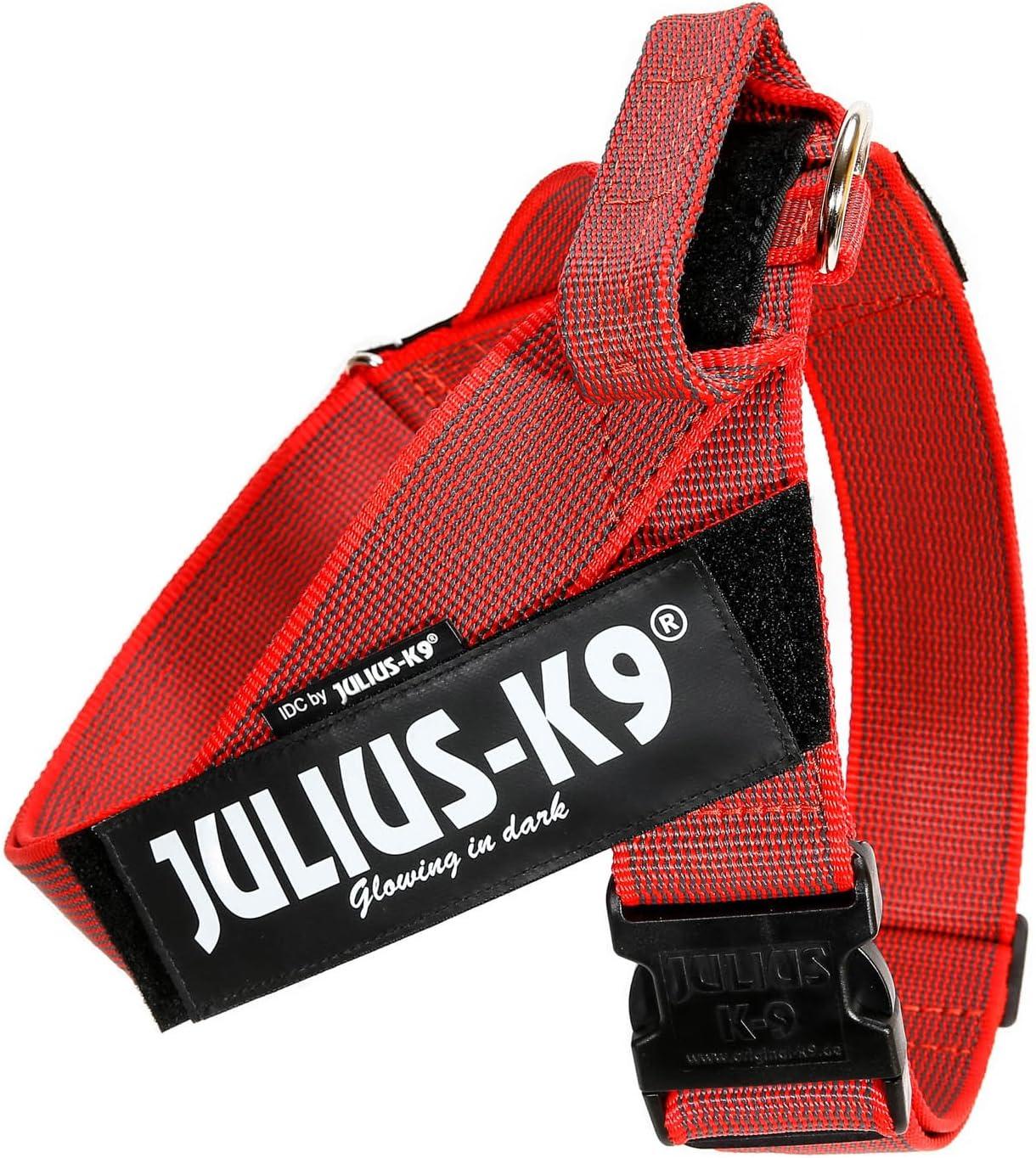 Julius-K9 Arnés de Correa Color & Gray, Talla: 3, Rojo-Gris ...