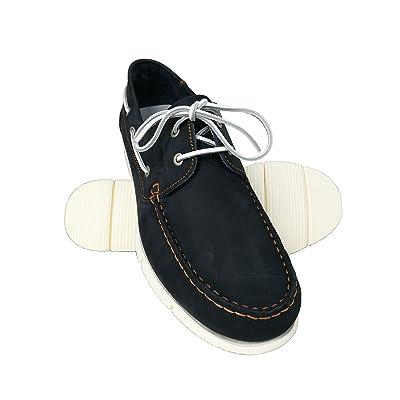 560528624e02 Zerimar Chaussures Bateau en Cuir pour Hommes