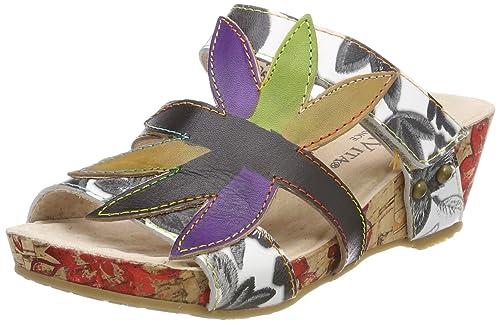 Venta Barata De Suministro Sitio Oficial Laura Vita Belinda 21 amazon-shoes marroni Compra En Línea Zclwd