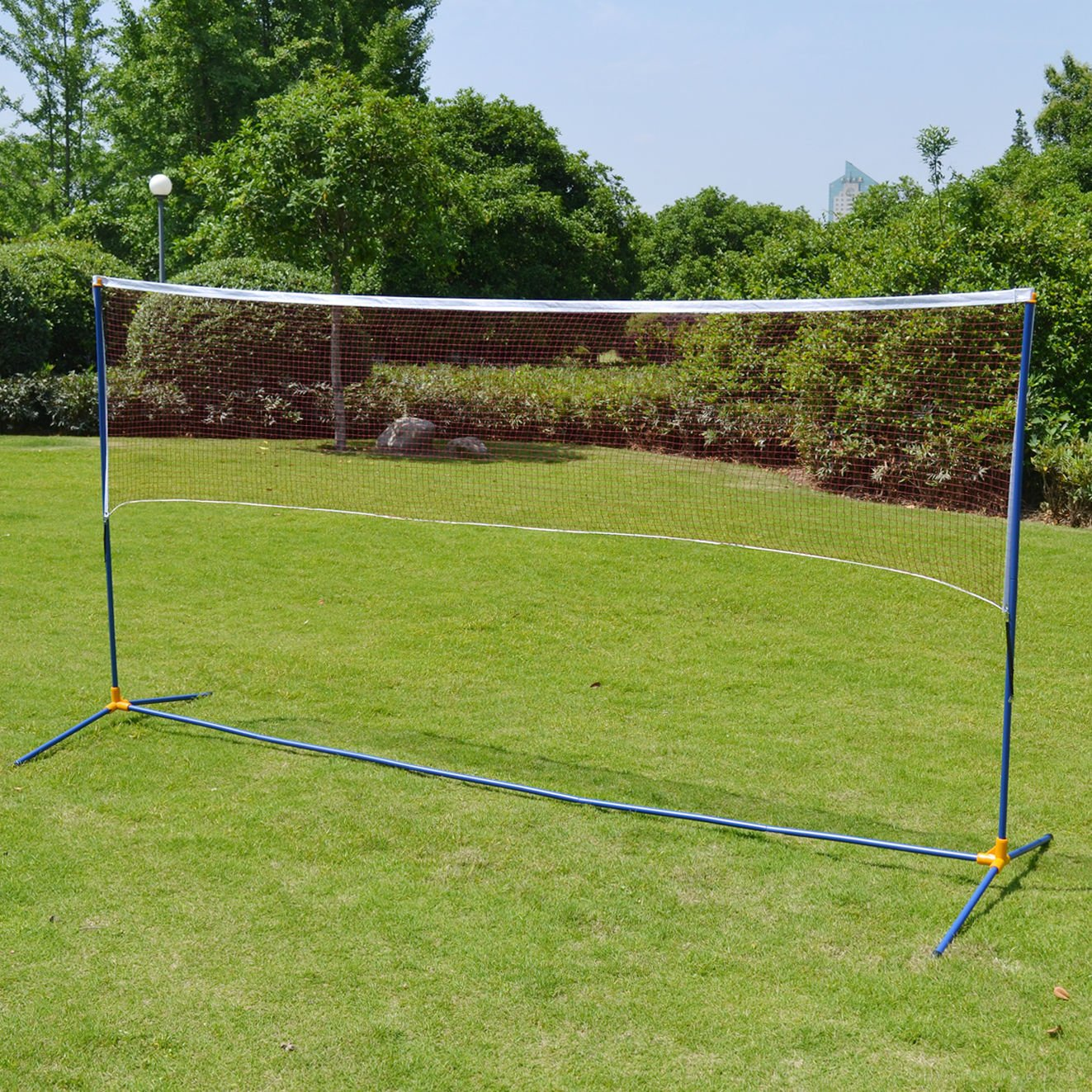 BenefitUSA Portable Training Beach Volleyball Tennis net Badminton with carrying bag