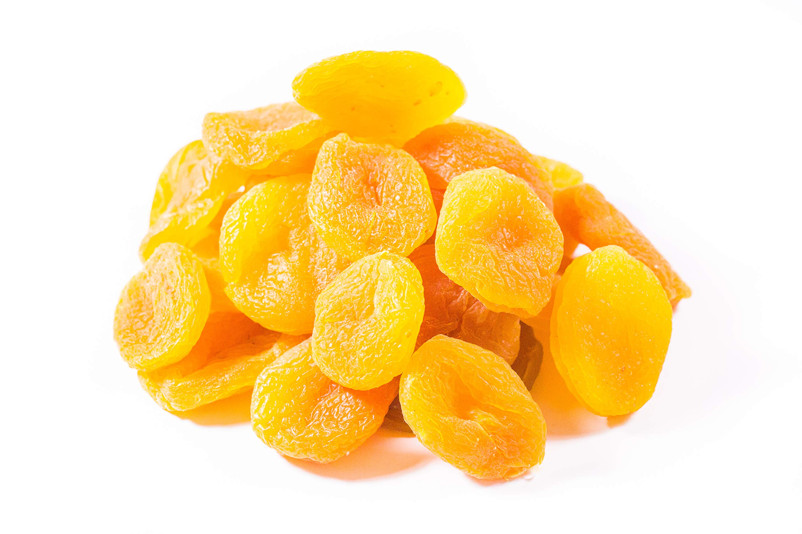 Sulfured - Bulk Sulfured Apricots 10 Pound Value Box - Freshest and highest quality dried fruit from US Based farmer market - Dried fruits for homes, restaurants, and bakeries. (10 LB)
