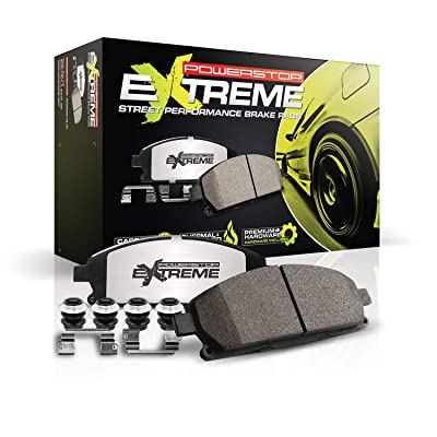 Power Stop Z26-1793 Z26 Extreme Performance Carbon-Ceramic Brake Pad: Automotive