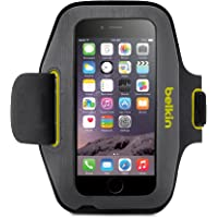 Belkin Sport-Fit Armband for iPhone 6 / 6S (Blacktop/ Limelight)