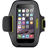 Belkin Sport-Fit Armband for iPhone 6 / 6S (Gravel / Limelight)