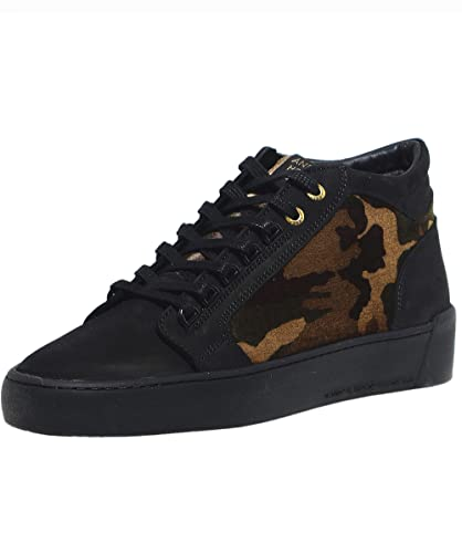 bae262881d6 Android Homme Men s Propulsion Mid Top Camouflage Velvet Trainers UK 7 Black