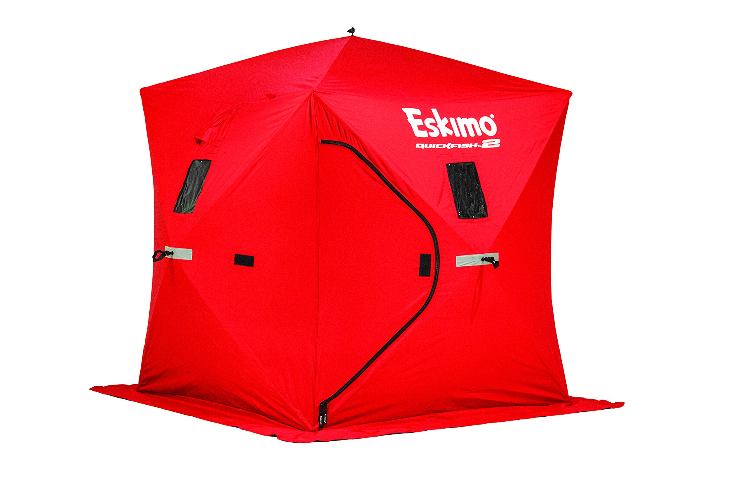 Eskimo 69151 Quickfish 2 Pop-up Portable Ice Shelter, 2 person by Eskimo