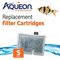 Aqueon QuietFlow Filter Cartridge, Small, 6 Pack
