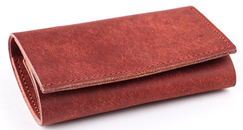 エムピウ ストラッチョ straccio コンパクト財布 三つ折り財布 リスシオ ブッテーロ 財布 m+ B0758499FW プエブロボルドー プエブロボルドー