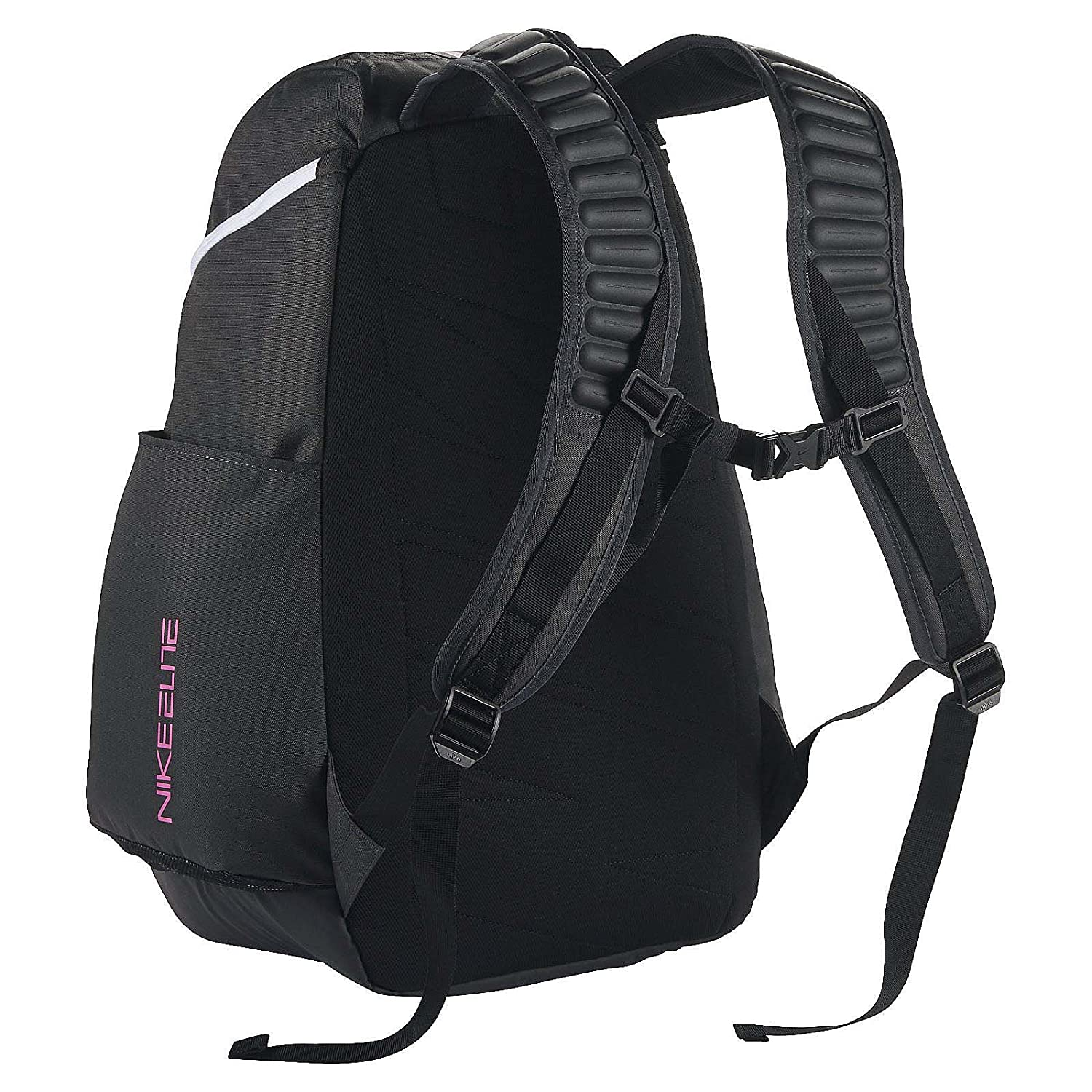 136725b0c6 Amazon.com  Nike Hoops Elite Max Air Team 2.0 Basketball Backpack  Anthracite Black Pinkfire II Size One Size  Sports   Outdoors