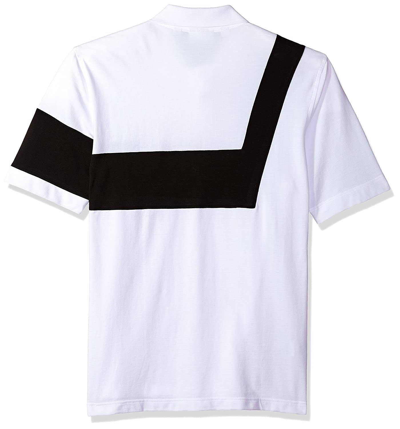 PH7326 Lacoste Mens Short Sleeve 85th Anni 00s Striped Polo