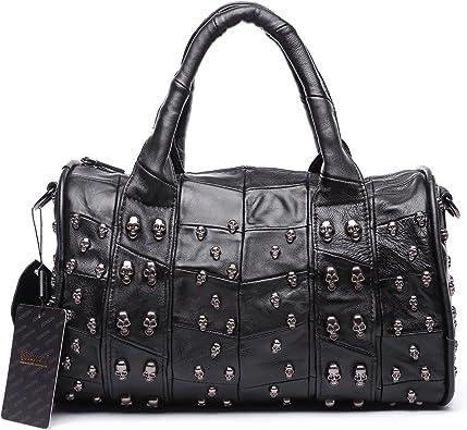 100/%Real Lambskin Women handbag and Shoulderbag