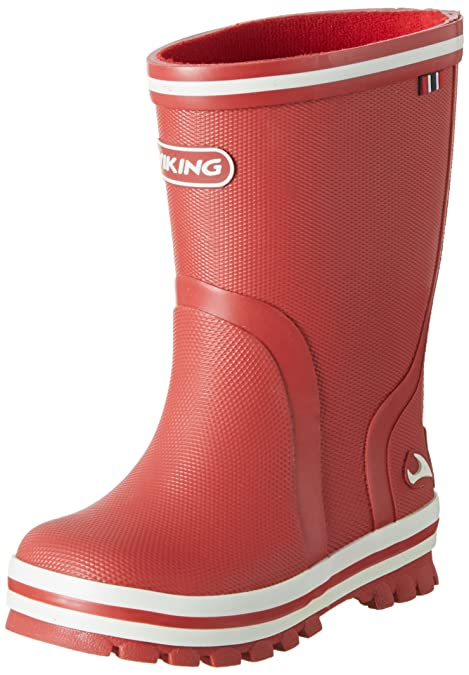 Viking Splash II, Botas de Agua Unisex niños, Rojo (Tomato 71),