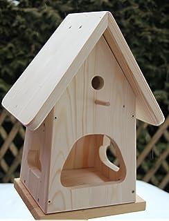 Vogelhaus Selber Bauen dekorativer nistkasten nb1 mit vogelfutterhaus zum selbst bauen