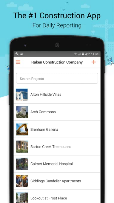 amazon com raken construction daily reports for superintendents