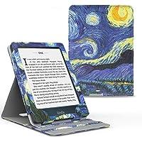 MoKo Kindle Paperwhite E-reader Case, Copertura di Vibrazione Verticale Custodia per Amazon Kindle Paperwhite (10a Generazione, 2018 Rilascio) - Notte Stellata
