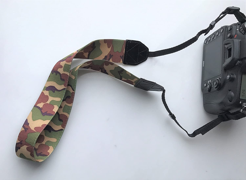 Gadget Place Stylish Camera Strap for Fujifilm X-T20 X-A10 X-A3 X-T2 X-Pro2 X-E2S X-T1 IR X-T10 X-A2 X-T1 X-E2 X-M1 X-E1 X-Pro1