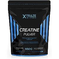 Creatin Monohydrat Pulver 500 g | Kreatin vegan 100% rein | Qualität aus Deutschland | für Kraftsport | Bodybuilding | Fitness