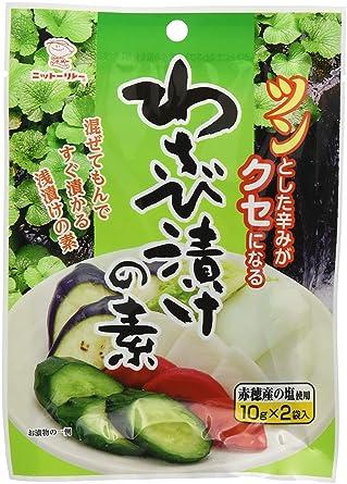 Amazon   日東食品工業 わさび漬...